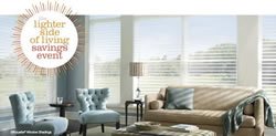 Click to learn more about the Hunter Douglas Promotions