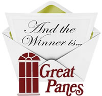 Great Panes ... The winner of Top Treatments and Curtains and Draperies Competition